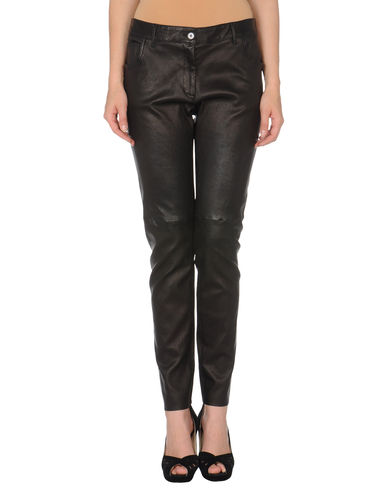 DOLCE &amp; GABBANA - Leather pants