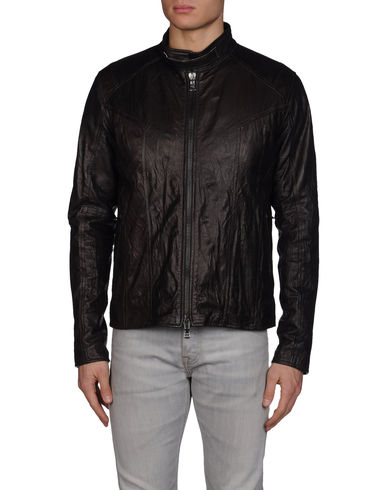 DANIELE ALESSANDRINI HOMME - Leather outerwear