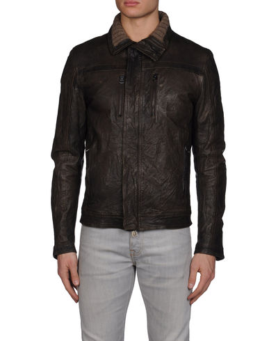 D.A. DANIELE ALESSANDRINI - Leather outerwear