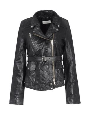 Leather outerwear Women's - GOLDEN GOOSE