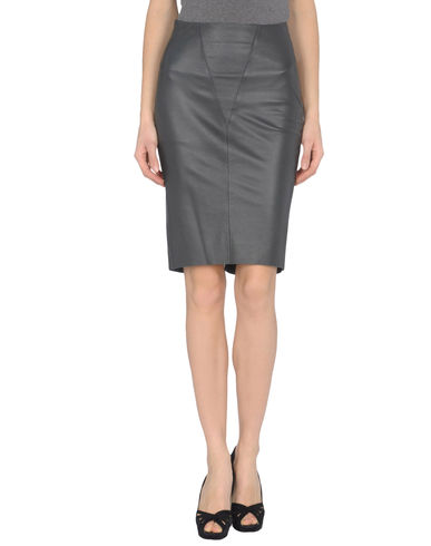 JASMINE DI MILO - Leather skirt