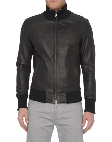 BRIAN DALES - Leather outerwear