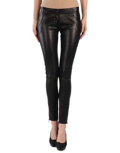 D&G - Leather trousers