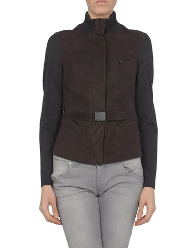 DONNA KARAN - Leather outerwear