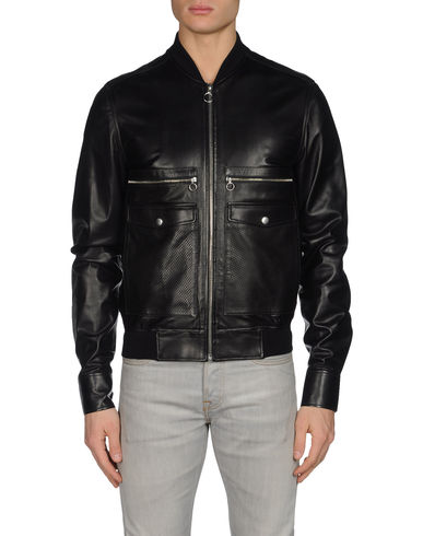 KRIS VAN ASSCHE - Leather outerwear
