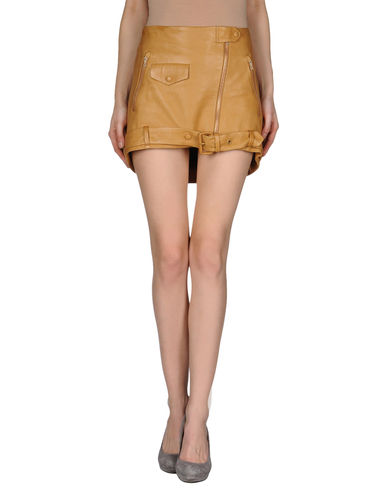 ACNE - Leather skirt