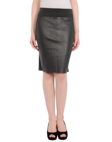 HACHE - Leather skirt
