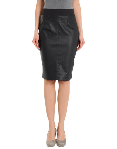 DOLCE &amp; GABBANA - Leather skirt