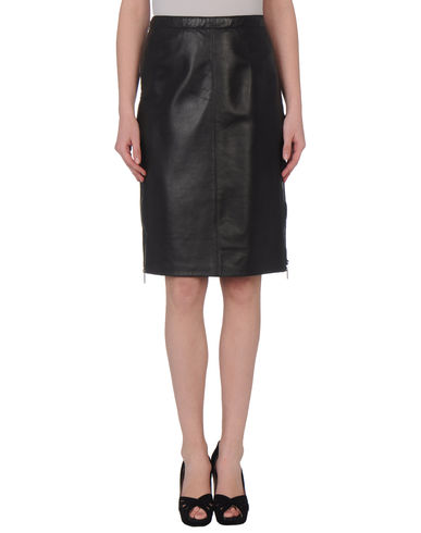 DIANA GALLESI - Leather skirt