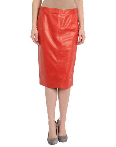 CHRISTIAN DIOR BOUTIQUE - Leather skirt