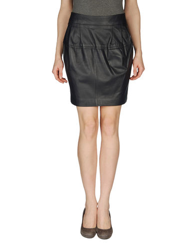 SCHUMACHER - Leather skirt