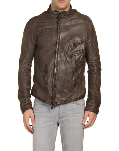 GIORGIO BRATO - Leather outerwear