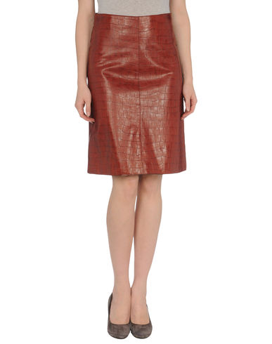 RUFFO - Leather skirt