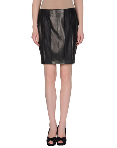 CUIRTURE - Leather skirt