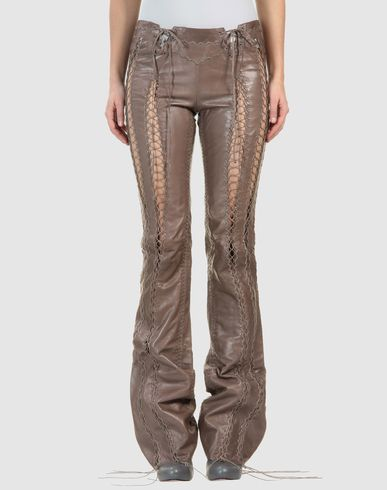 ROBERTO CAVALLI - Leather pants