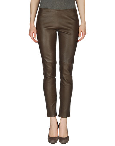SIMONETTA RAVIZZA - Leather pants