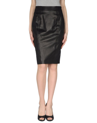 L&#39;AGENCE - Leather skirt
