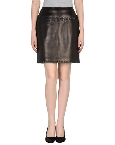 ALAÏA - Leather skirt