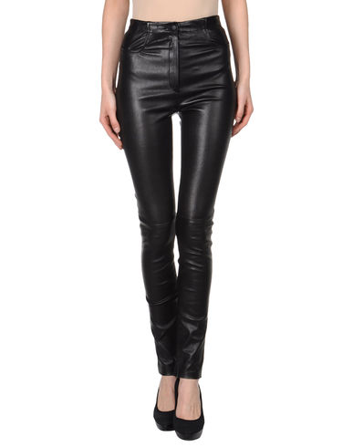 MUGLER - Leather pants