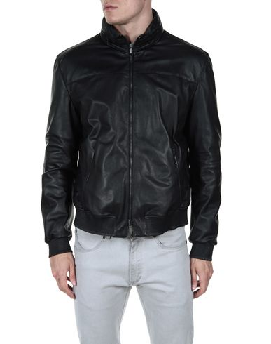 ARMANI COLLEZIONI - Leather outerwear