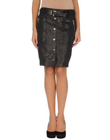 MICHAEL MICHAEL KORS - Leather skirt