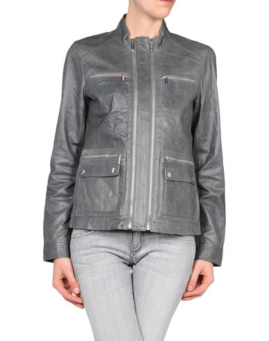 MICHAEL MICHAEL KORS - Leather outerwear