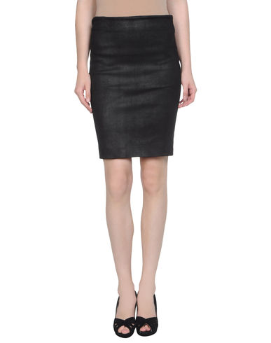 SYLVIE SCHIMMEL - Leather skirt