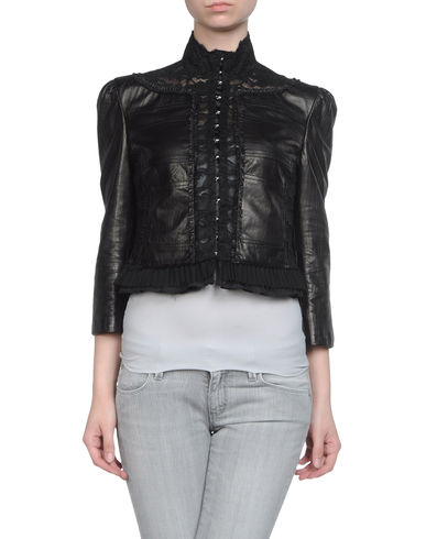 JOHN RICHMOND - Leather outerwear