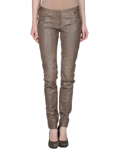 TRUE ROYAL - Leather pants