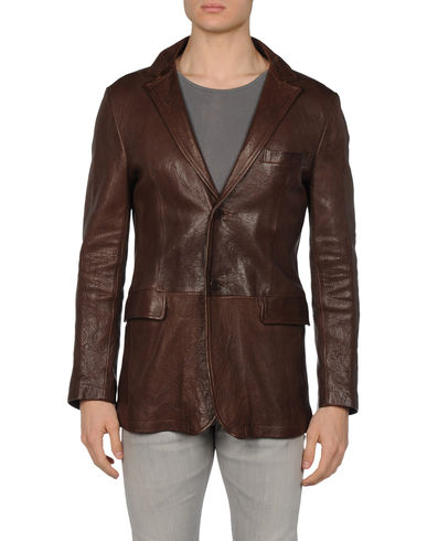 DANIELE ALESSANDRINI - Leather outerwear