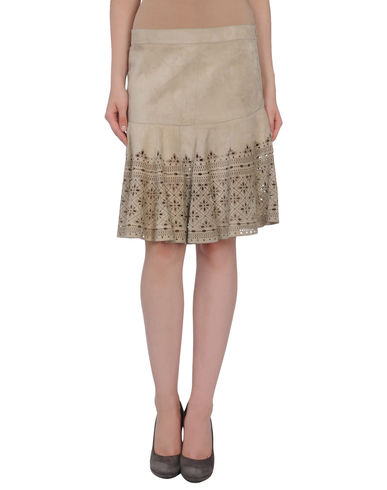 DEREK LAM - Leather skirt
