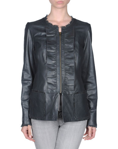KRISTINA TI - Leather outerwear