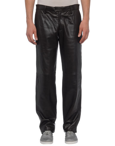 DOLCE & GABBANA - Leather pants