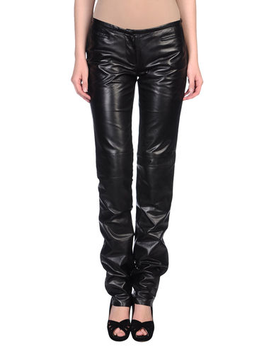 COSTUME NATIONAL - Leather trousers