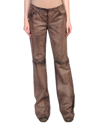 MIU MIU - Leather trousers