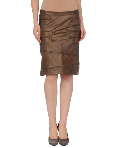 GARDEM PARIS - Leather skirt