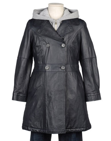 D&G JUNIOR - Leather outerwear