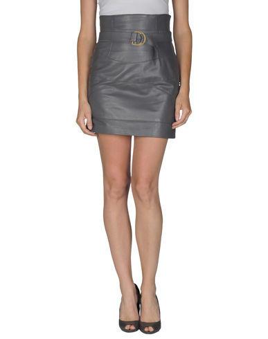 GUARAPO - Leather skirt