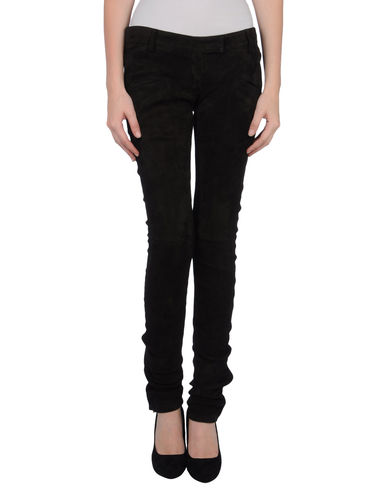 BALMAIN - Leather pants