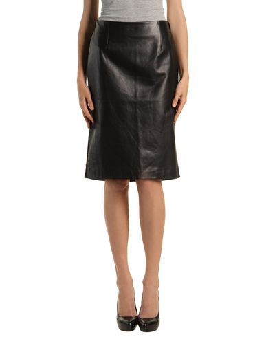 MAISON MARTIN MARGIELA 4 - Leather skirt