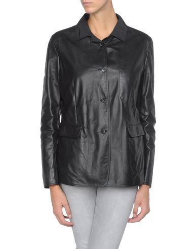 JIL SANDER - Leather outerwear