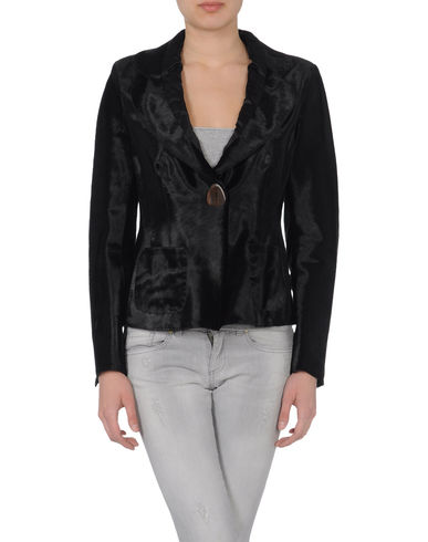 SALVATORE FERRAGAMO - Leather outerwear