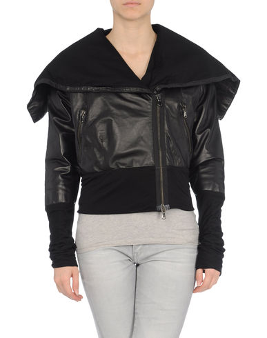 ENTRE AMIS - Leather outerwear
