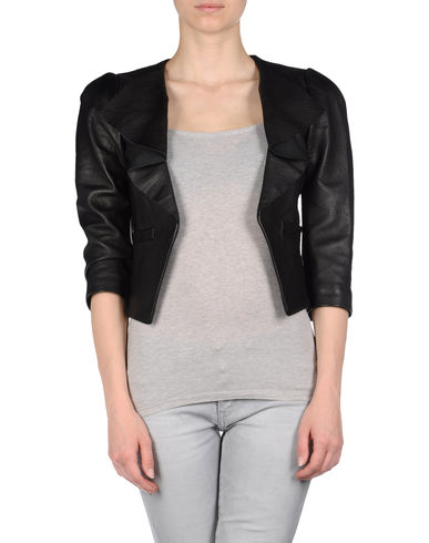 TIBI - Leather outerwear