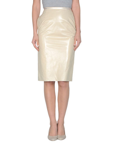 MAISON MARTIN MARGIELA - Leather skirt