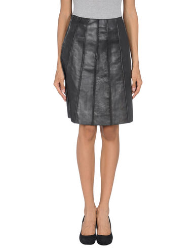 VIKTOR & ROLF - Leather skirt