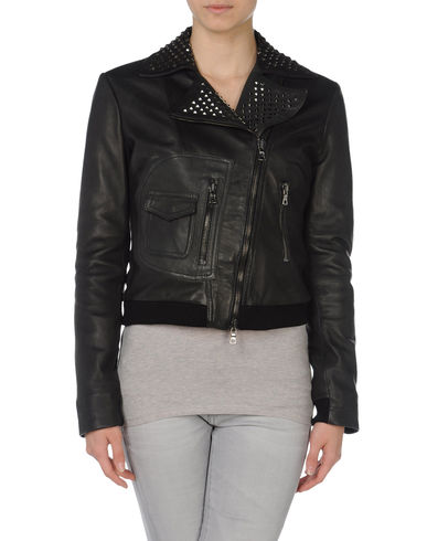 EUROPEAN CULTURE - Leather outerwear