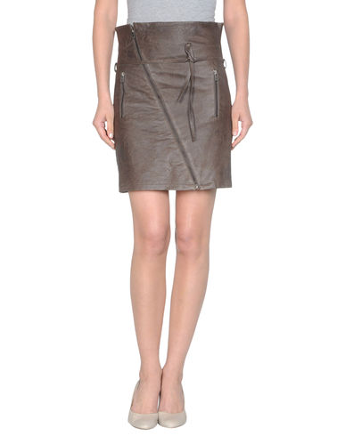 MM6 by MAISON MARTIN MARGIELA - Leather skirt