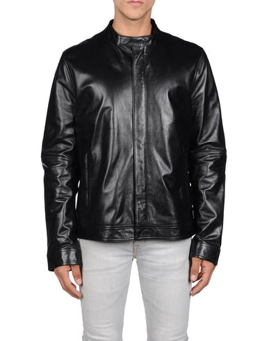 GIVENCHY - Leather outerwear