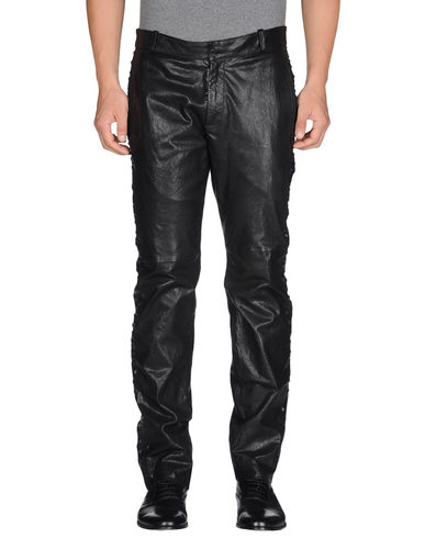 EMPORIO ARMANI - Leather trousers